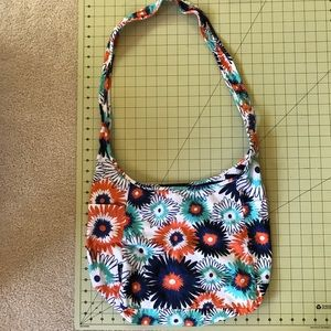 Thirty-One crossbody reversible tote